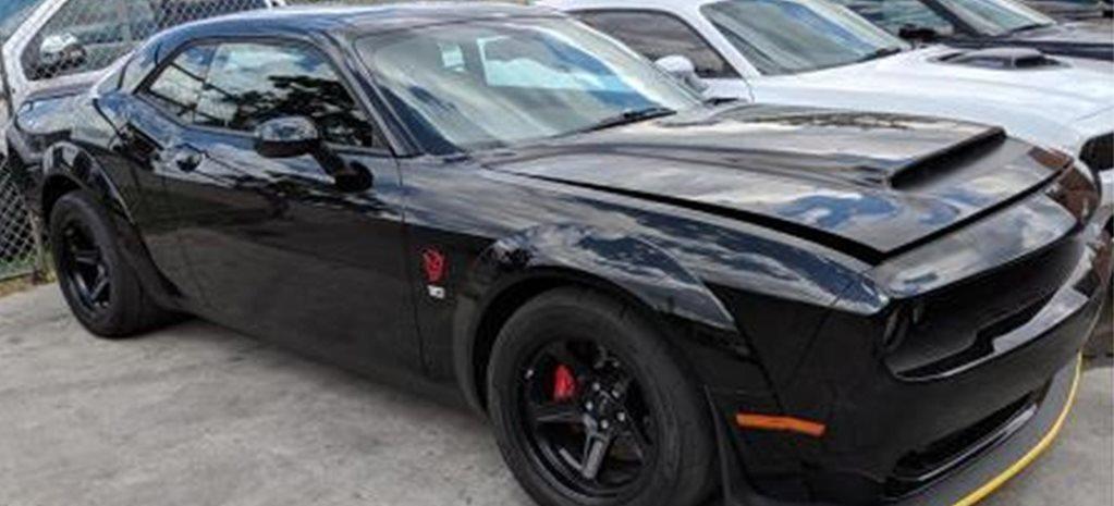 2019 Dodge Challenger Demon Stolen From Melbourne Workshop