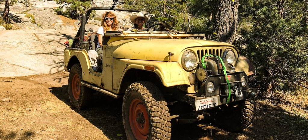 Driving a 1973 Jeep CJ-5 on the Rubicon Trail feature