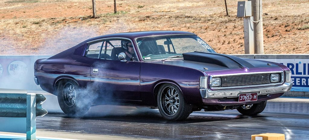 Gen III Hemi-powered Valiant Charger debuts at Drag Challenge 2018