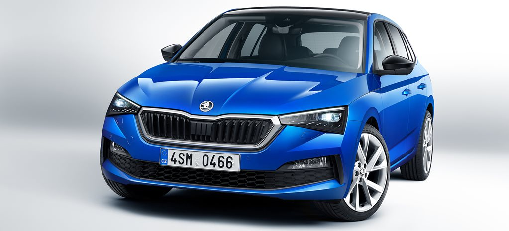 Skoda Scala breaks cover