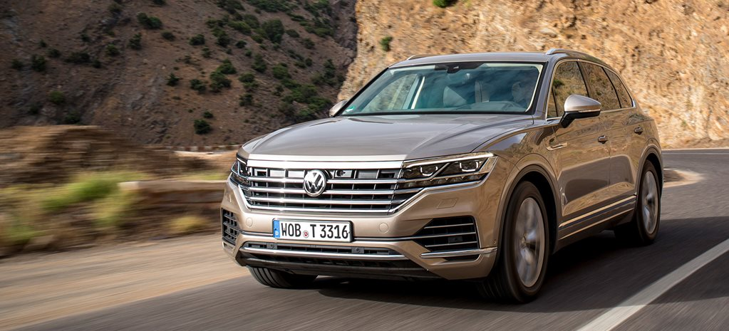 The 2019 Volkswagen Touareg SUV is so stylish, it borders on smug