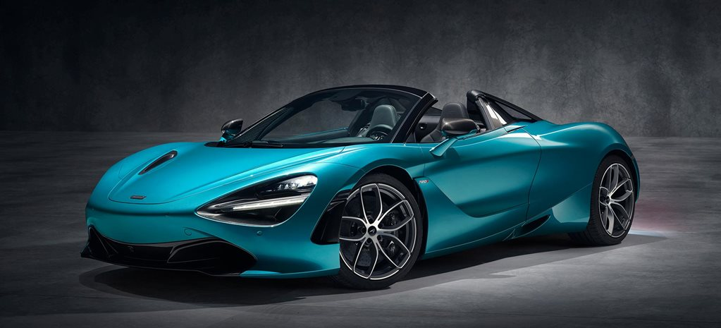 2019 McLaren 720S Spider breaks cover news