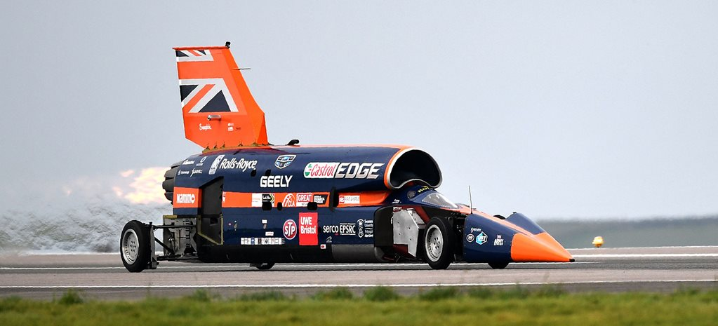 Bloodhound SSC, the world's fastest car, is for sale