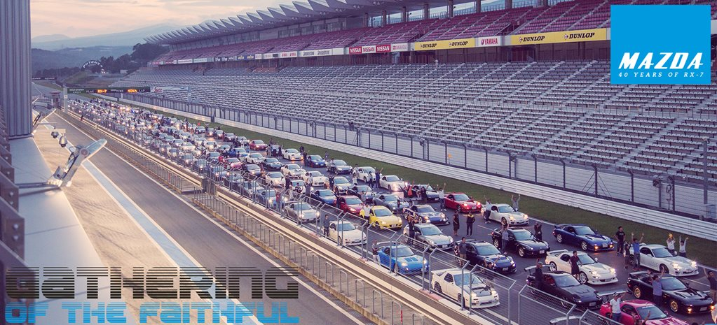 Gathering of the faithful: 40 years of the Mazda RX-7 at Fuji Speedway