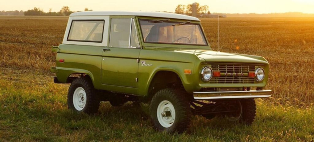 Gateway Bronco as-new 1966-77 Broncos under license Ford news