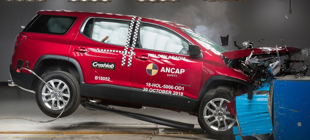 VIDEO Holden Acadia, BMW X5 score ANCAP five stars