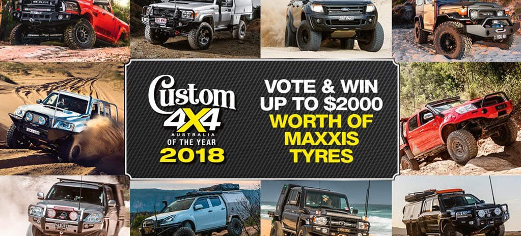 Winner of Maxxis Tyres 2018 Custom 4x4OTY news
