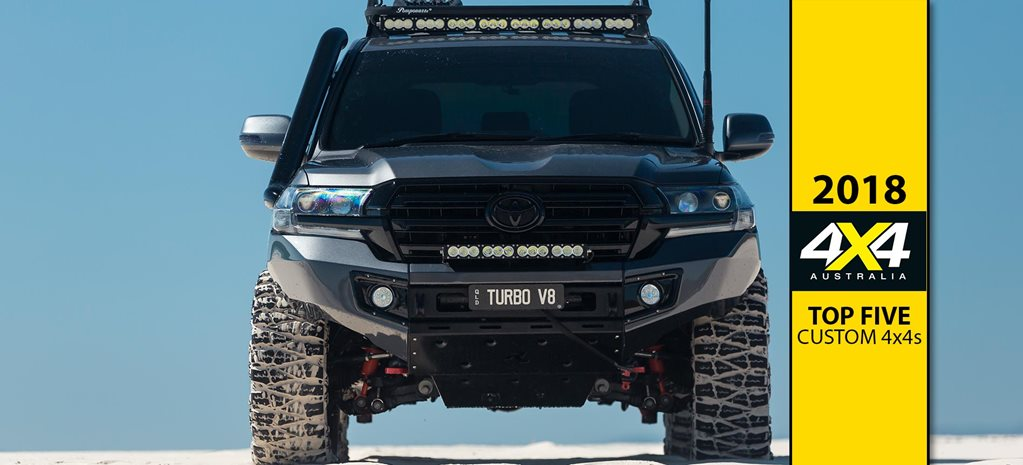 Top five custom 4x4s of 2018