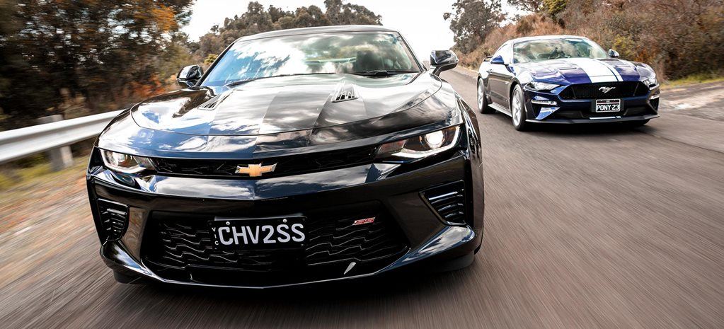 Mustang Vs Camaro >> 2018 Chevrolet Camaro 2ss Vs Ford Mustang Gt Comparison Review