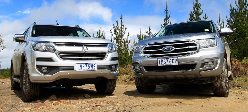 2019 Ford Everest vs Holden Trailblazer video feature