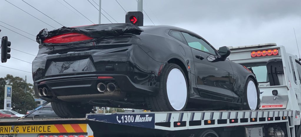 Chevrolet Camaro ZL1 spied in Melbourne news