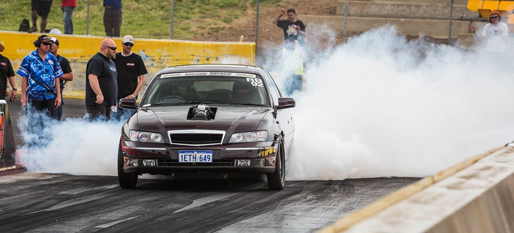 1100hp turbo LSX-powered Holden Caprice runs eights at Drag Challenge 2018