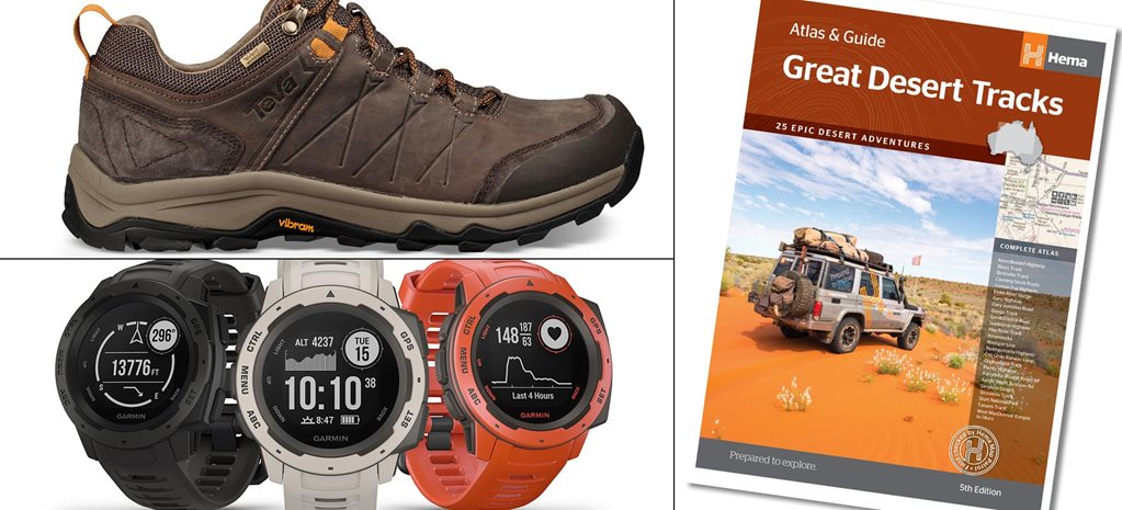 New 4x4 Gear Hema guide Garmin watch Teva boots news