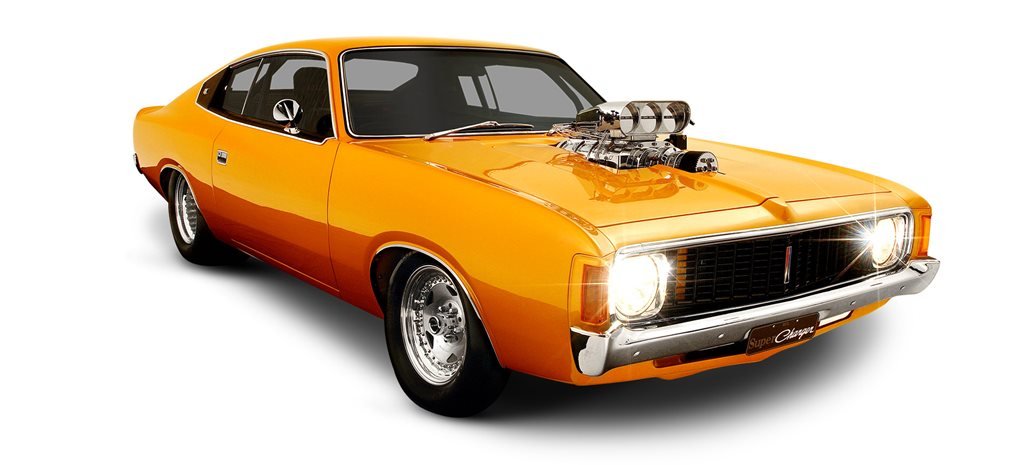 Supercharged 1973 Valiant Charger E55