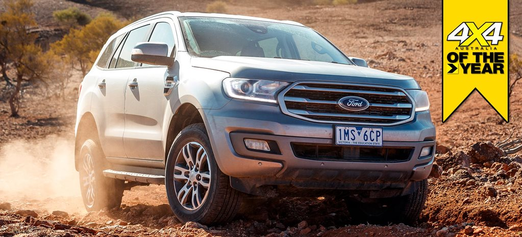 Ford Everest Trend 2019 4x4 of the Year contender feature