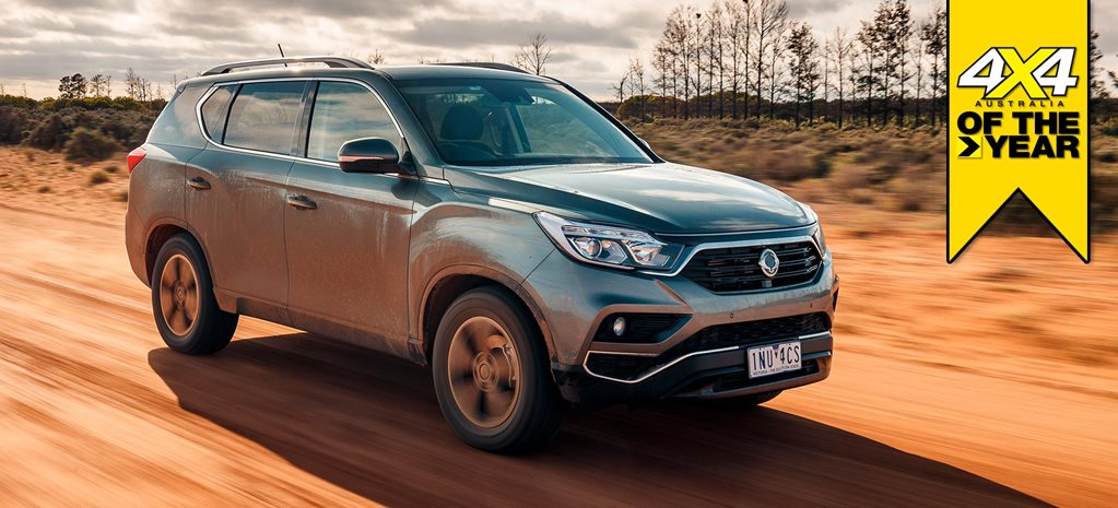SsangYong Rexton ELX 2019 4x4 of the Year contender feature