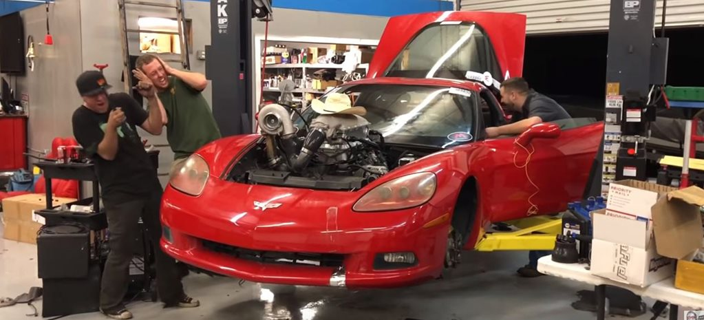 Cleetus McFarland's 740hp turbo LS-powered C6 Corvette budget build