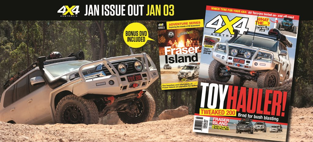 4X4 Australia January 2019 issue preview feature