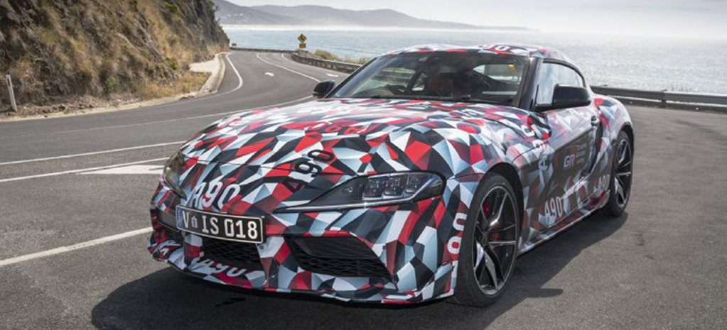 2019 Toyota Supra makes flying visit to Australia