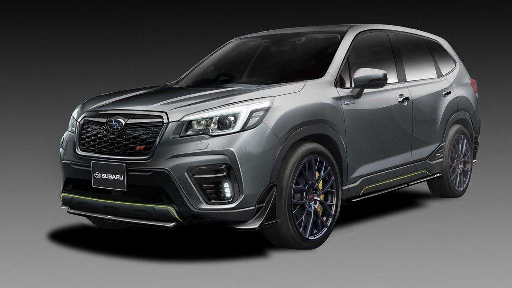 2020 Subaru Forester Turbo, STI, Hybrid >> New Subaru Forester Sti Concept Is Not The Turbo You Re