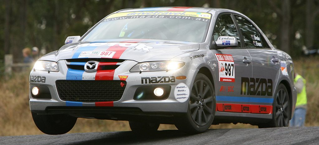 2006 Mazda 6 MPS takes on Targa Tasmania classic MOTOR feature