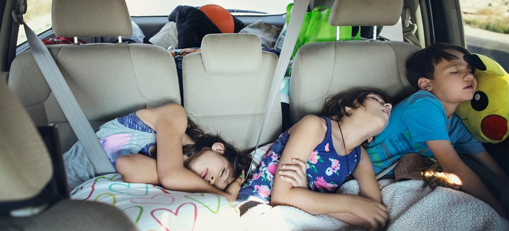 Poorly-worn seatbelts endangering children during holiday road trips: report