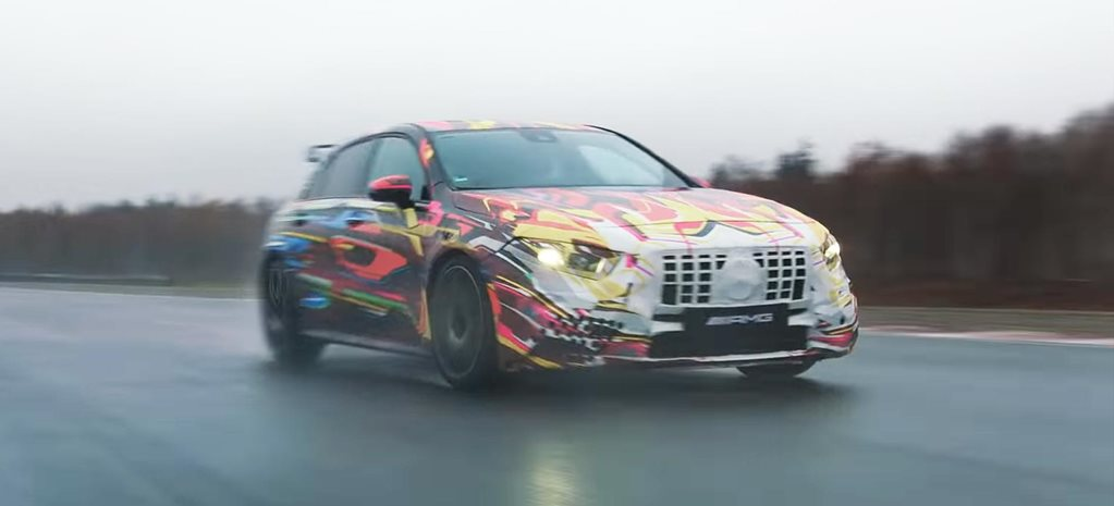2020 Mercedes-AMG A45 shown off in Christmas video feature