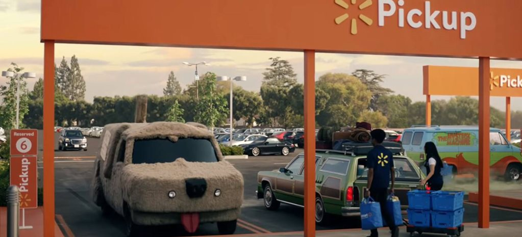 Walmart uses famous movie and TV cars in new commercial