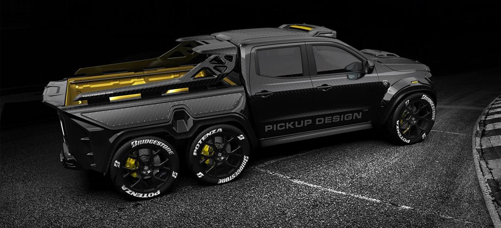 Carlex Design Envisions Mercedes Benz X Class 6x6 Track Safety Ute