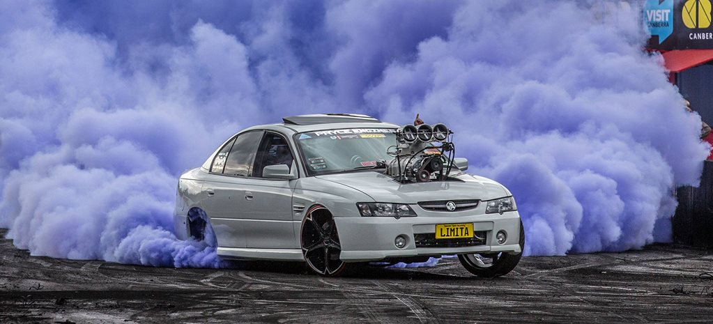 Summernats 32 Burnout Championship finals – Video