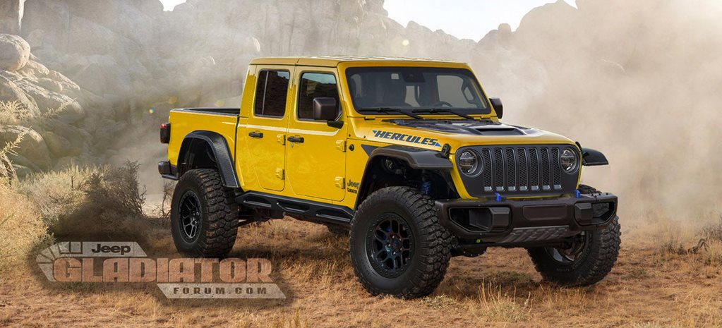 Jeep Gladiator Hercules rumoured news