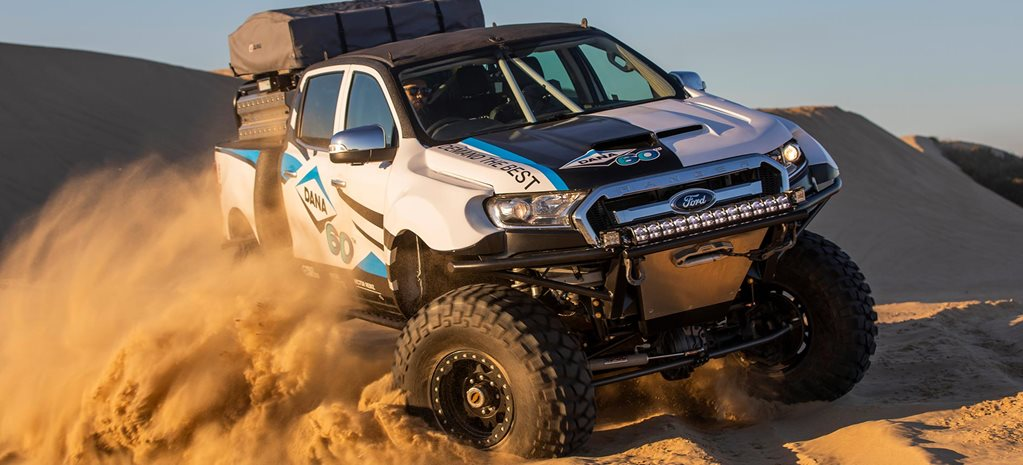 Custom Dana 60-equipped Ford Ranger feature
