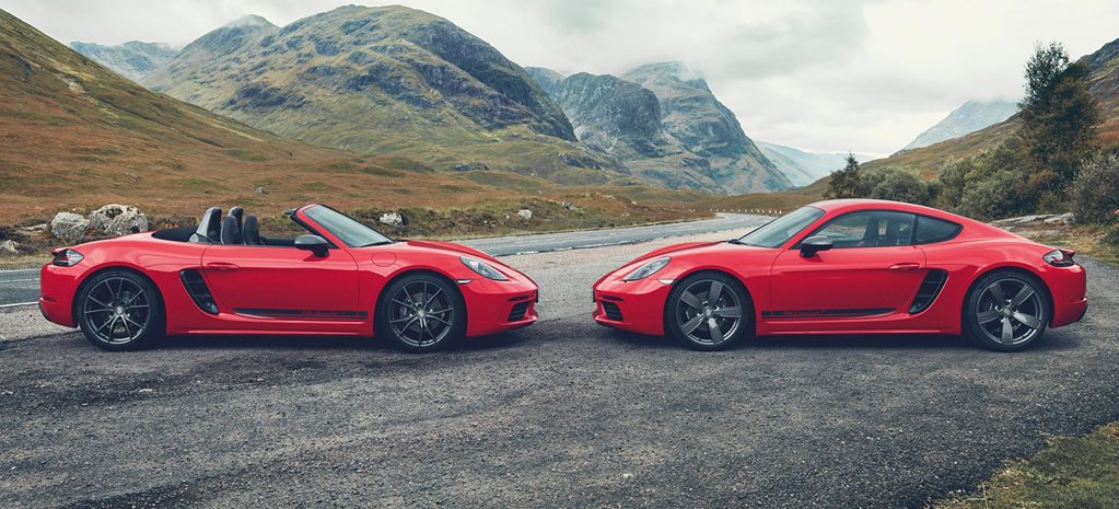 Porsche 718 Boxster and Cayman T gets Touring treatment news