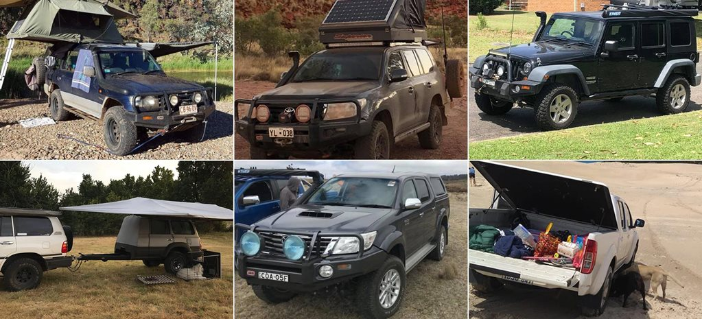 Readers 4x4s Camping stars feature