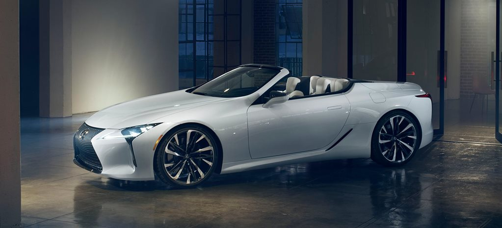 2019 Detroit Auto Show Lexus LC Convertible Concept revealed news