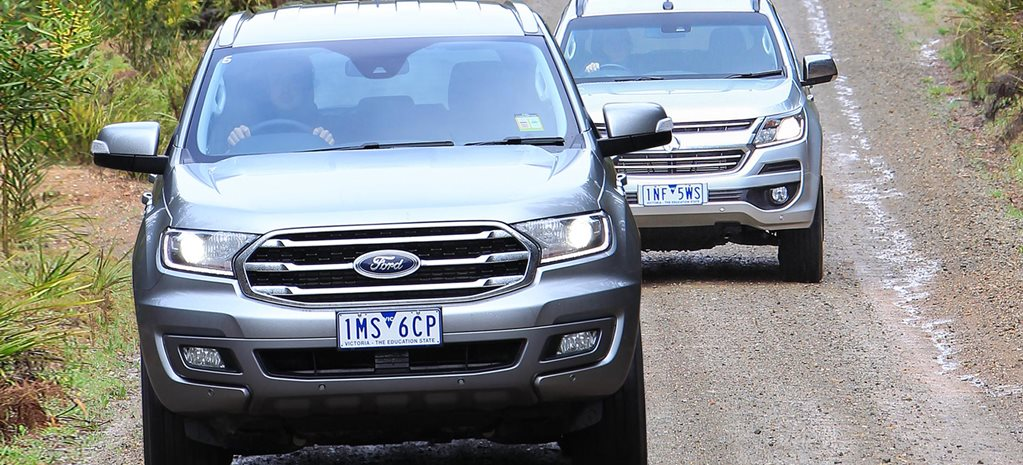 2019 Ford Everest vs Holden Trailblazer 4x4 review