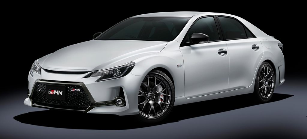 Toyota Mark X GRMN revealed for Japanese market news