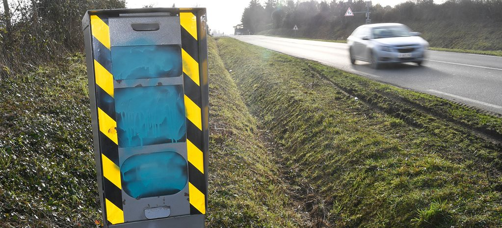 Majority of France's speed cameras destroyed during protests