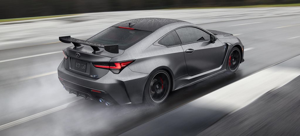 2019 Detroit Auto Show Lexus Rc F Track Edition Revealed