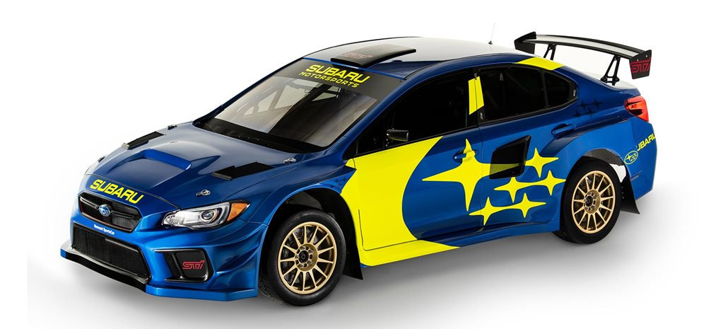 Subaru reveals iconic blue gold livery news