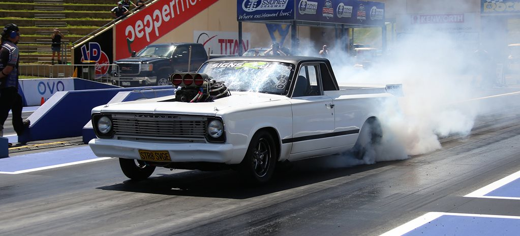 Supercharged BBC-powered VC Valiant ute