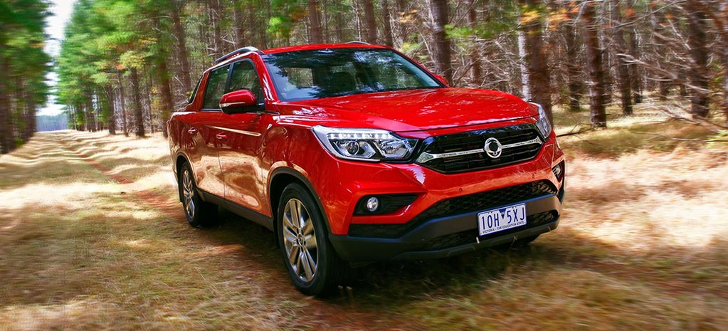 2019 Ssangyong Musso dual-cab ute 4x4 review feature