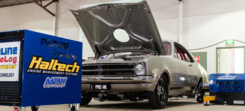 Eight-second HK Monaro owns the dyno and Tuff Street at Street Machine Summernats 32