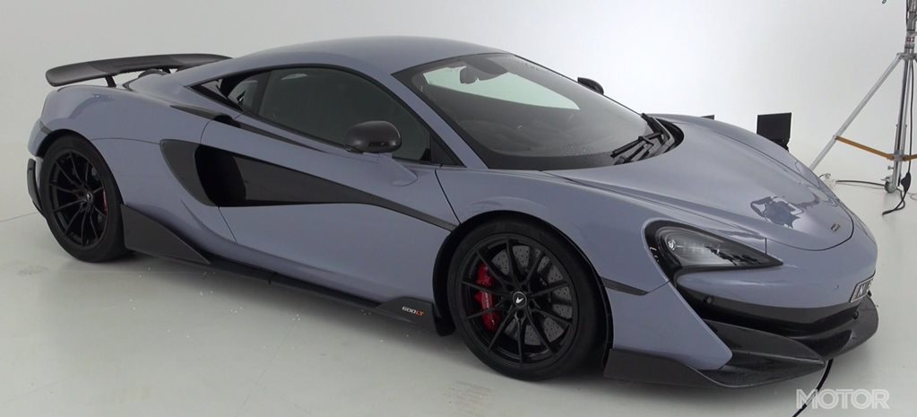 2019 McLaren 600LT quick walkaround video feature