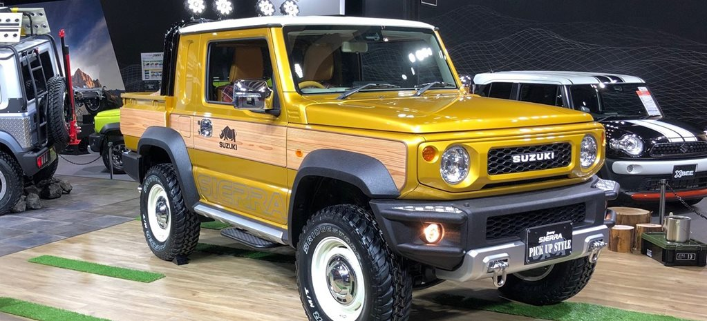 The Suzuki Jimny Could Become The World S Smallest Coolest Ute