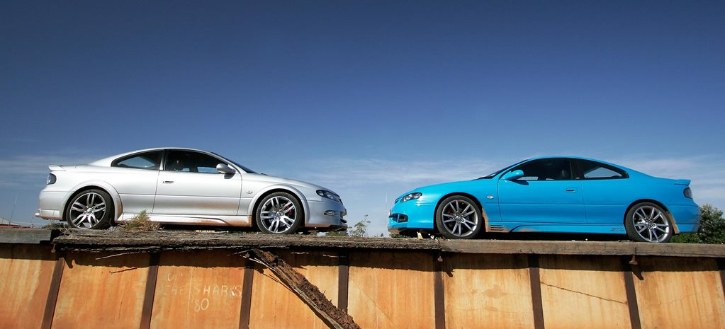 All Aussie Showdown 2005: HSV GTO Coupe vs HSV Coupe4