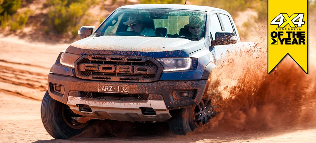 Ford Ranger Raptor 2019 4x4 of the Year contender feature