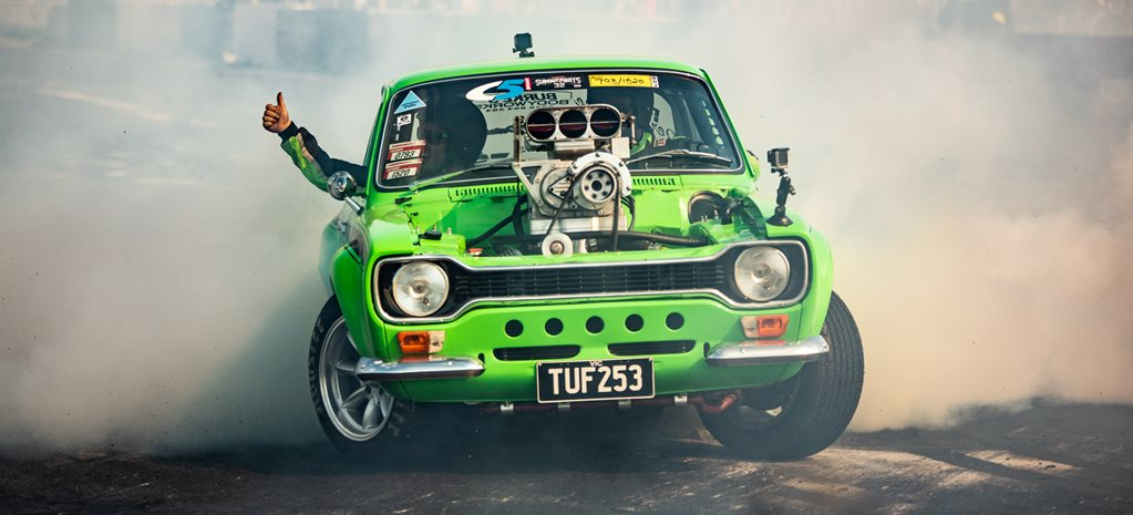 Riding in the TUF253 Escort at Summernats 32 – Video