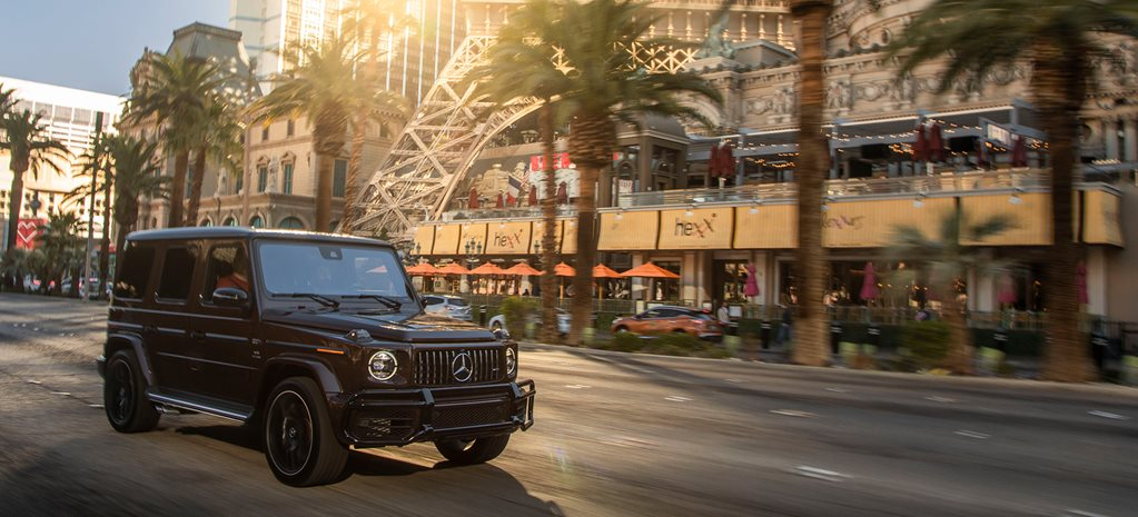 2019 Mercedes-AMG G63: from Las Vegas to LAX