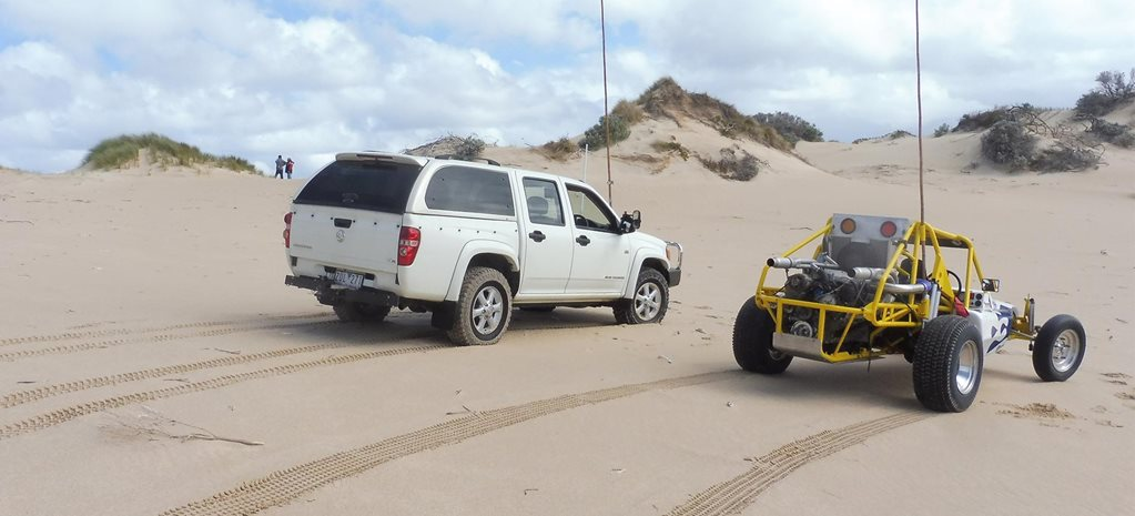 4x4 trip to Discovery Bay coastal park Vic feature